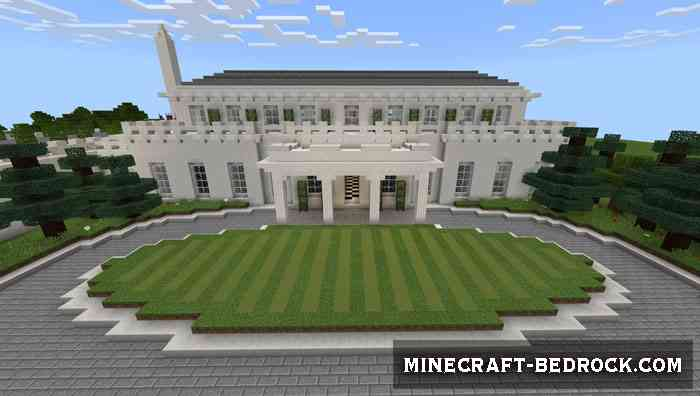Карта A Minecraft White House [Творение]
