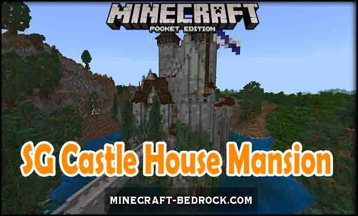 Карта SG Castle House Mansion – Loamhill Manor [Созидание]