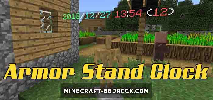 Мод Armor Stand Clock Script 1.9.0.3+