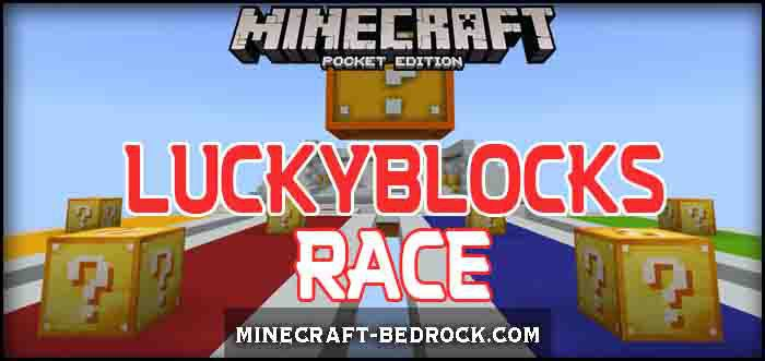 Карта Lucky Blocks Race [Мини-игра]