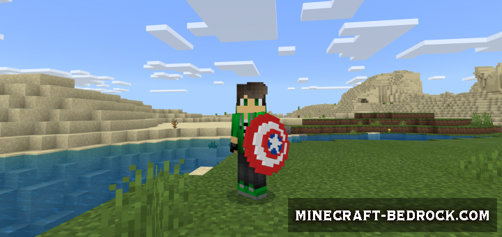 Мод Cap's Shield (1.10 beta+)
