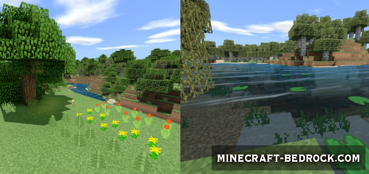 Текстуры Natural Mystic Shaders (32×32) 1.9, 1.10, 1.11