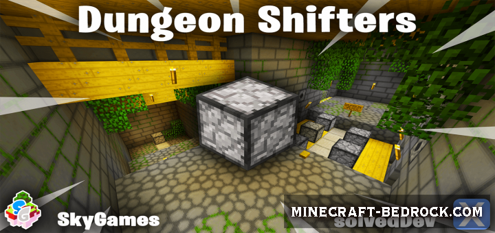Карта SG Puzzle: Dungeon Shifters 1.9, 1.10, 1.11