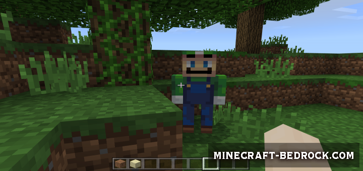 Мод Luigi the Creeper 1.9, 1.10, 1.11
