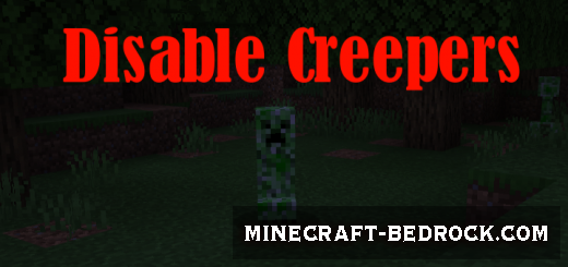 Мод Disable Creepers 1.12