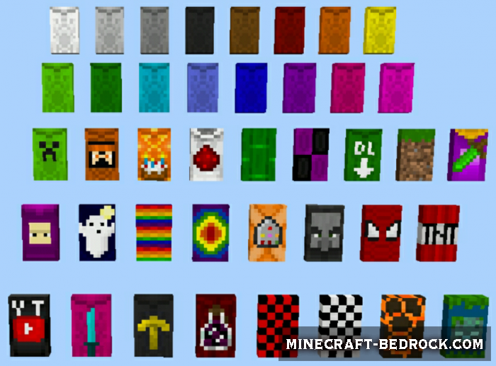 Мод Wearable Cape Banners Update 1.12