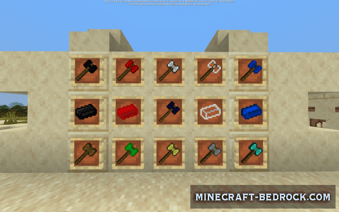 Мод Battle Axes 1.14